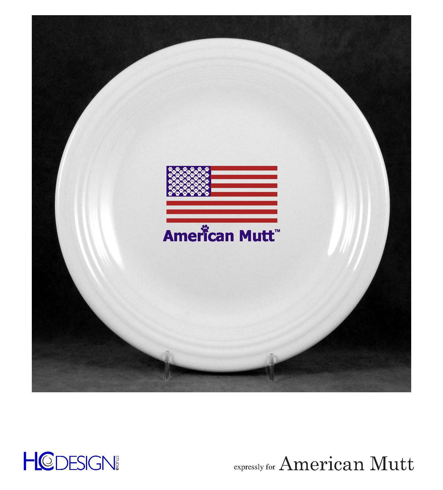 american mutt plate