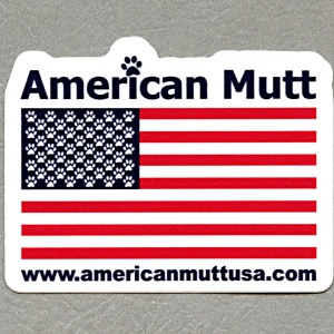 american mutt sticker
