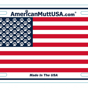 american mutt car tag